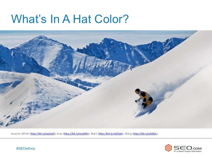 The Ethics of Black Hat and White Hat SEO Slide 3