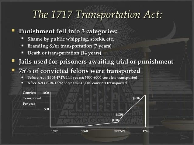 transportation punishment