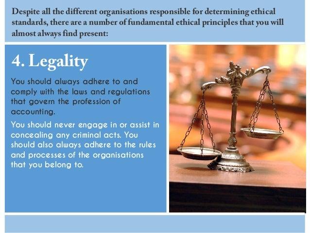 Accountant Professional Ethics