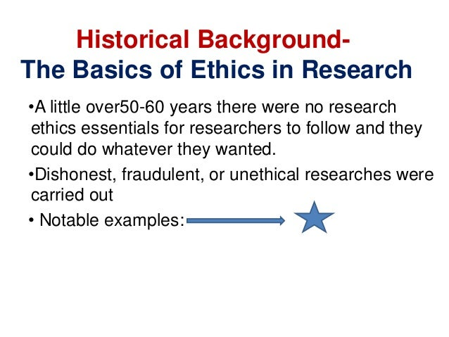 the ethical principles of scientific research We are going through a time of profound change in our understanding of the ethics of applied social research from the time immediately after world war ii until the early 1990s, there was a gradually developing consensus about the key ethical principles that should underlie the research endeavor.