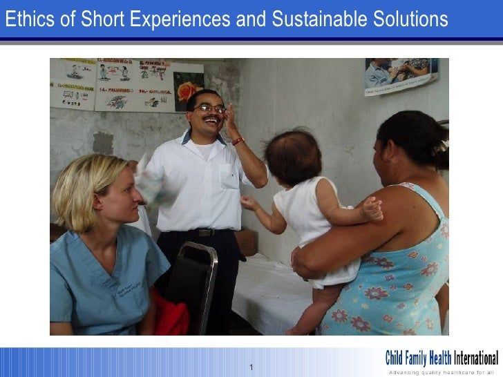 Ethics of Short Experiences and Sustainable Solutions
