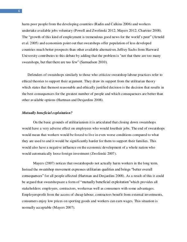 Industrial regulations essay