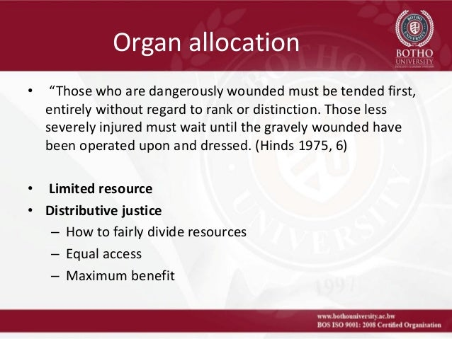 organ transplantation and ethics Who library cataloguing-in-publication data who consultation on the ethics, access and safety in tissue and organ transplantation: issues of global concern (2003 :madrid.