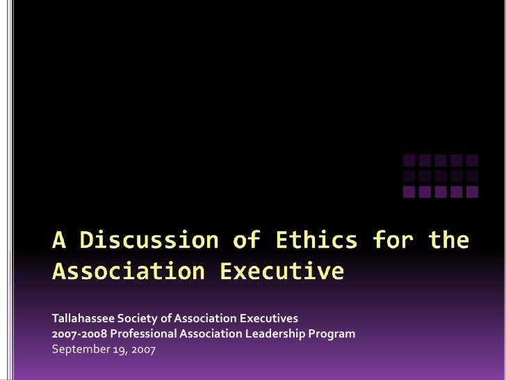 Ethics  Pal2007 08 Show