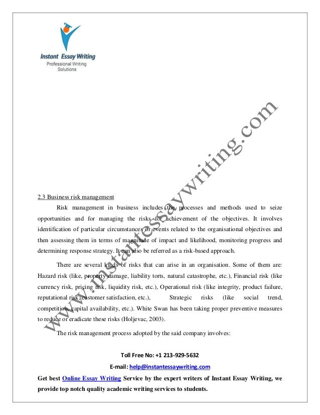 sample report on ethics risk decision making in tourism hospital   complete essay writing 13