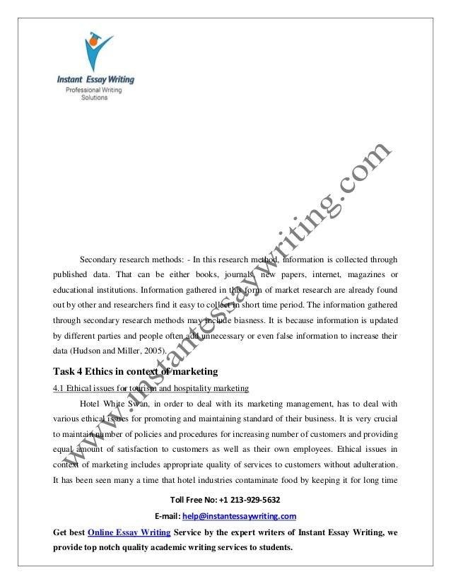 sample report on ethics risk decision making in tourism hospital   20