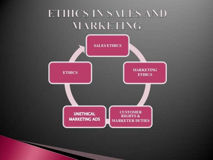 sales and ethics Business ethics scenarios home markkula center for applied ethics focus areas  business ethics business ethics resources  sales expense reimbursement.
