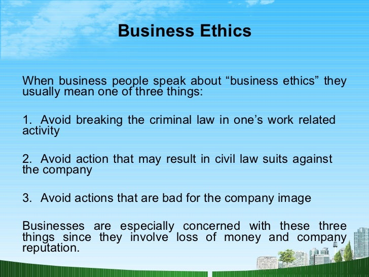 Essay on Ethics: Meaning, Need and Importance | Business