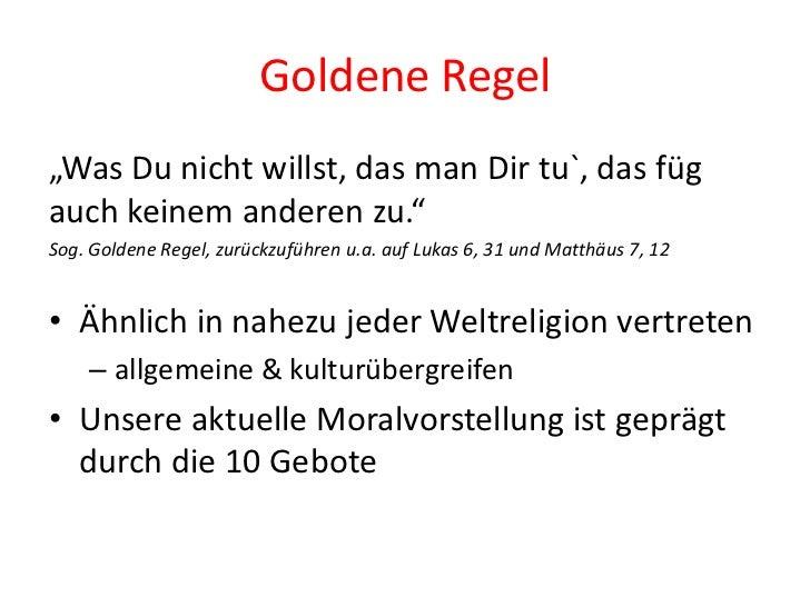 Kant Goldene Regel