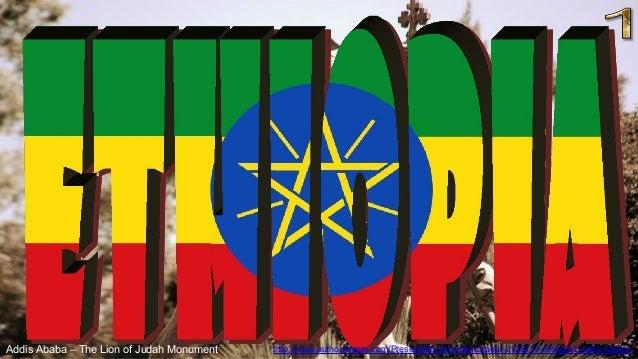 Addis Ababa – The Lion of Judah Monument http://www.authorstream.com/Presentation/sandamichaela-2128419-ethiopia1-addis-ab...