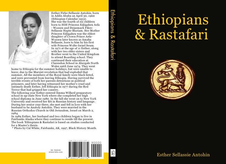 Ethiopians & Rastafari                                 Esther Firke-Sellassie Antohin, born                               ...