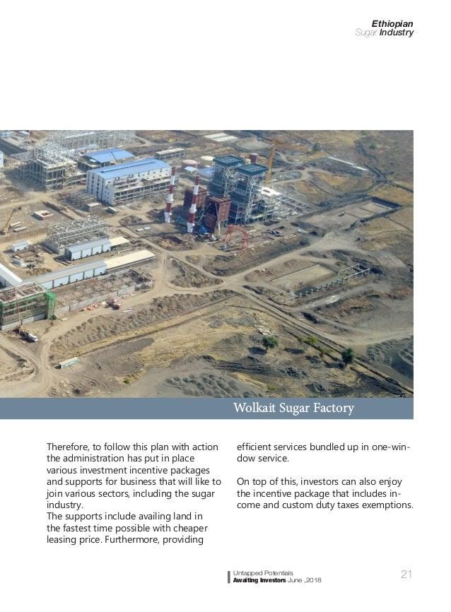 Ethiopian sugar industry profile