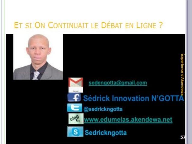  Il s'agit d'une talentueuse bloggeuse, lauréate du prix Ivoir blog award 2011 http://yehnidjidji.blogspot.com/  Suite à...