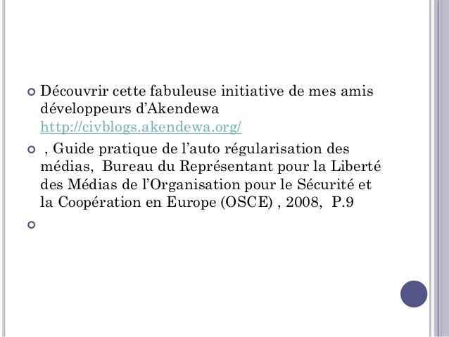 Miklós Haraszti, Guide pratique de l'auto régularisation des médias, Bureau du Représentant pour la Liberté des Médias de...