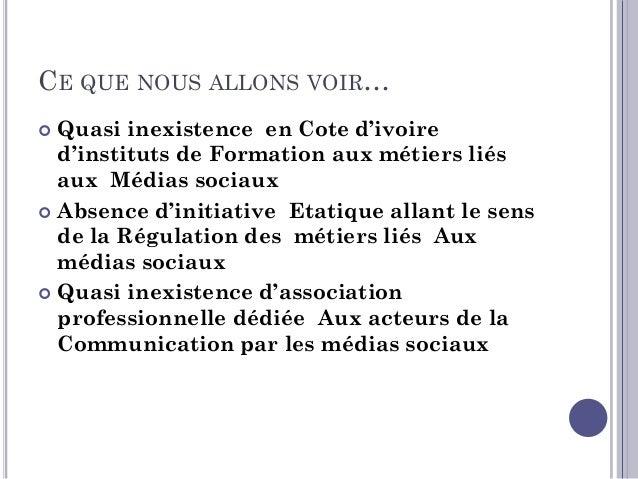 CE QUE NOUS ALLONS VOIR…  L'éducation aux médias, solution à envisager pour le long Terme   La charte d'éthique et L'aut...