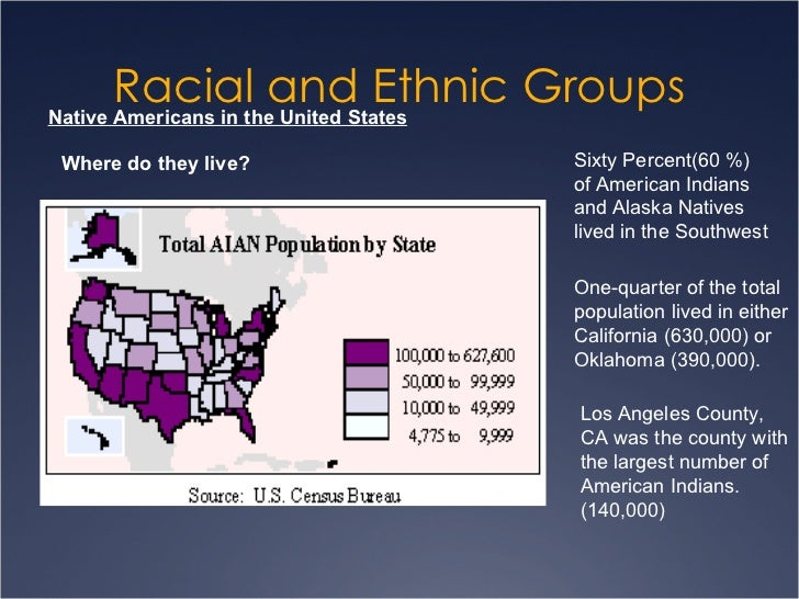 racial ethnic groups in the united Perhaps the most telling indicator of the coming complexity in racial and ethnic politics is a 1994 national conference survey asking representatives of the four major ethnic groups which other .