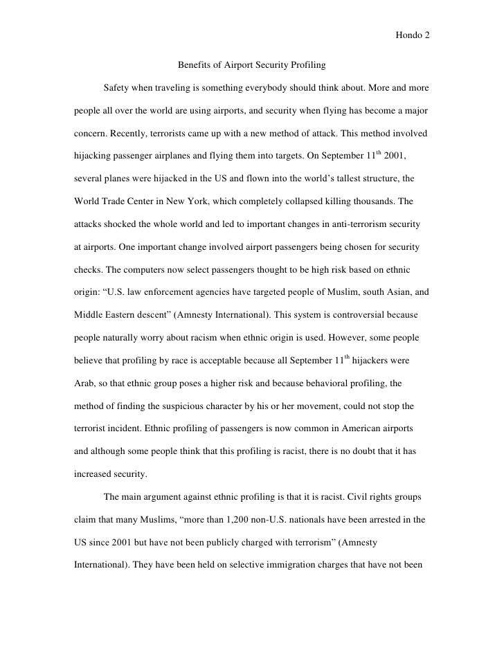 essay about airports