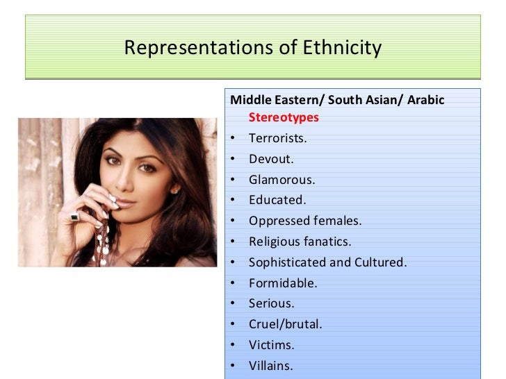 Ethnic Sterotypes 87