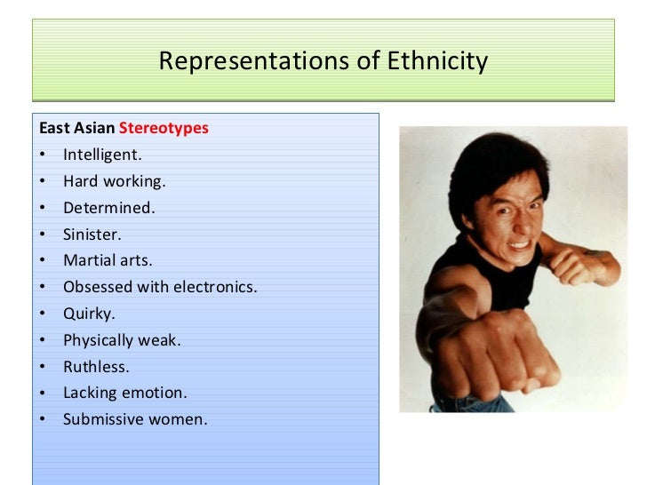 Ethnic Sterotypes 61