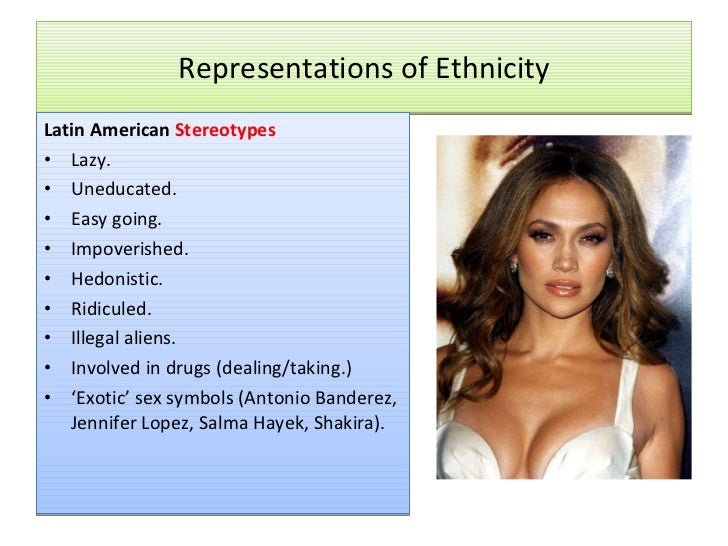 Ethnic Sterotypes 94