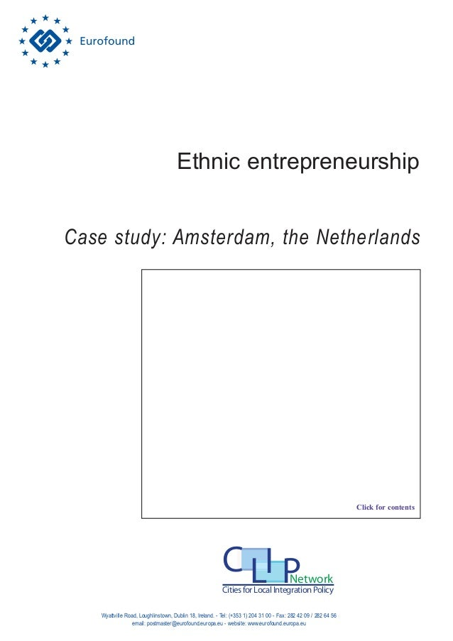 entrepreneurship case study asignment 1 Assignment: 1st semester 2014 ent / ent001 assignment 1st semester : entrepreneurship (ent) entrepreneurship please read the following case study and then answer all the questions.