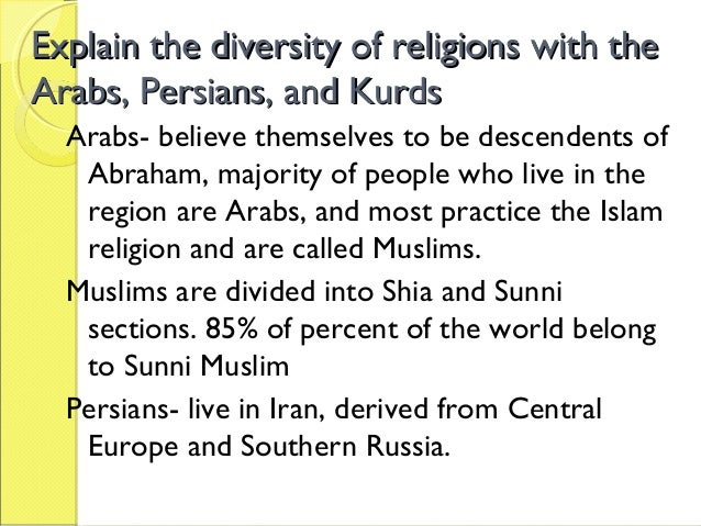 Religious and Ethnic Groups