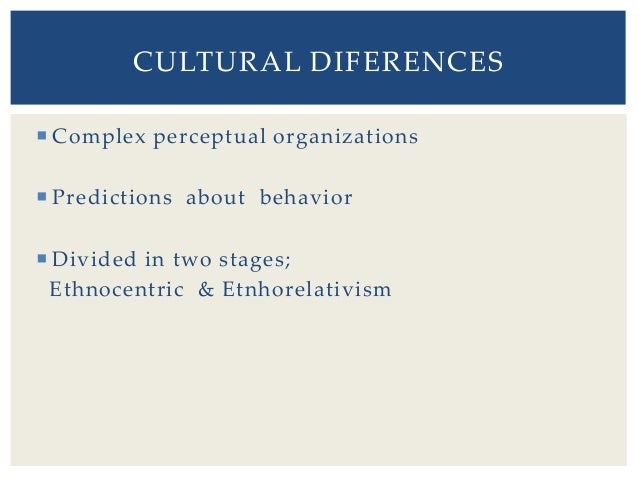"towards ethnorelativism milton j bennett Organized into six ""stages"" of increasing sensitiveness to difference the article identifies the underlying cognitive orientations persons use to understand cultural difference each place along the continuum represents progressively complex perceptual organisations of cultural difference which in bend allow progressively sophisticated experiences of other civilizations."