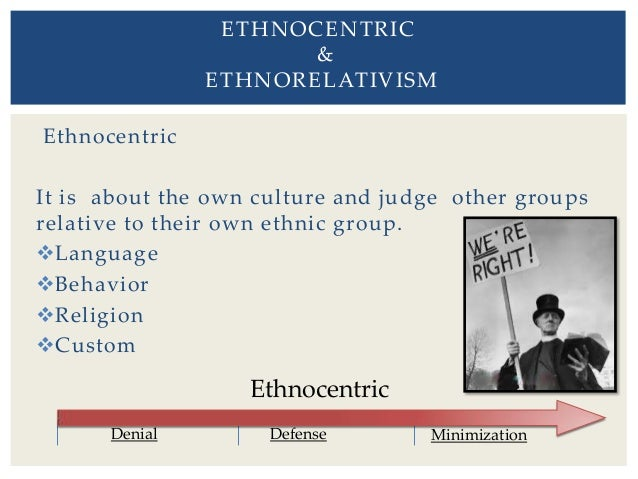 anthropology cultural relativism and ethnocentrism Free essay: ethnocentrism and cultural relativism ethnocentrism and cultural relativism are two contrasting terms that are displayed by different people all.
