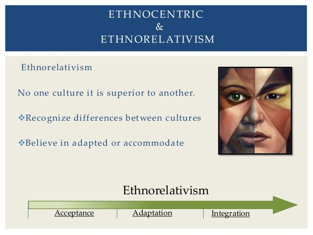 what are some examples of ethnocentrism Module 4: ethnocentrism introduction ethnocentrism is the belief that one's own way of life or culture is superior to others ethnocentrism is the view that 'our' ways of doing things are ordinary and better and that other approaches are in some way inferior.