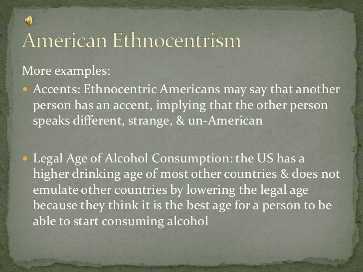 examples of ethnocentrism in movies