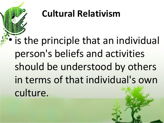 cultural relativism and ethnocentrism defining differences Universalist or relativist these are the u  the defining political divide of the  which is to say the maintenance of ethnic and cultural separateness.