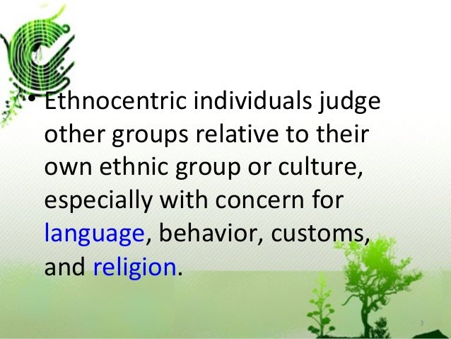 difference between ethnocentrism and cultural relativism