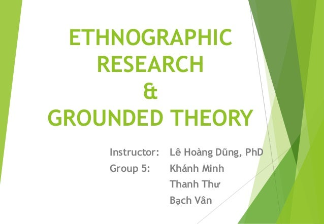 Phd thesis ethnography