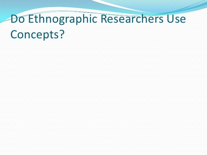 Ethnographic topics? | Yahoo Answers
