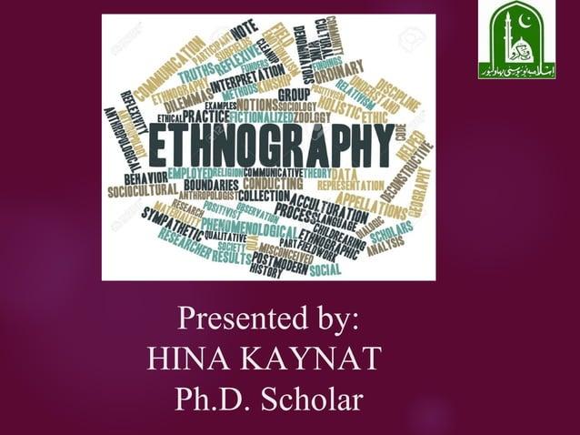 Presented by: HINA KAYNAT Ph.D. Scholar