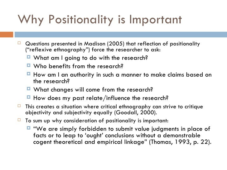 researcher positionality and reflexivity relationship