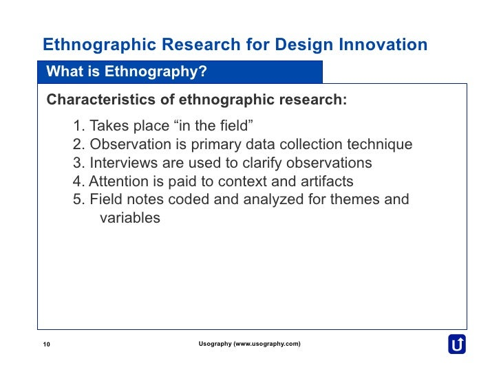 enthonographic research Abstract ethnography is a qualitative research method often used in social sciences,  volume 2 month 12 day 26- ethnographic studies in education.