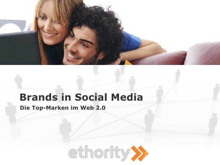 Brands in Social Media Die Top-Marken im Web 2.0