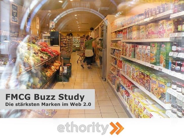 FMCG Buzz Study Die stärksten Marken im Web 2.0