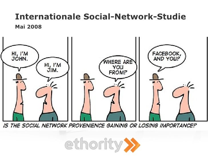 Internationale Social-Network-Studie Mai 2008