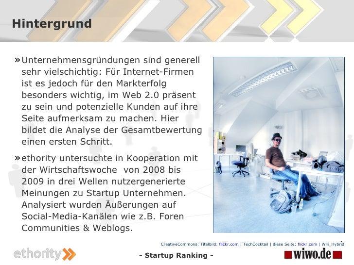 ethority Startup Ranking  Slide 2