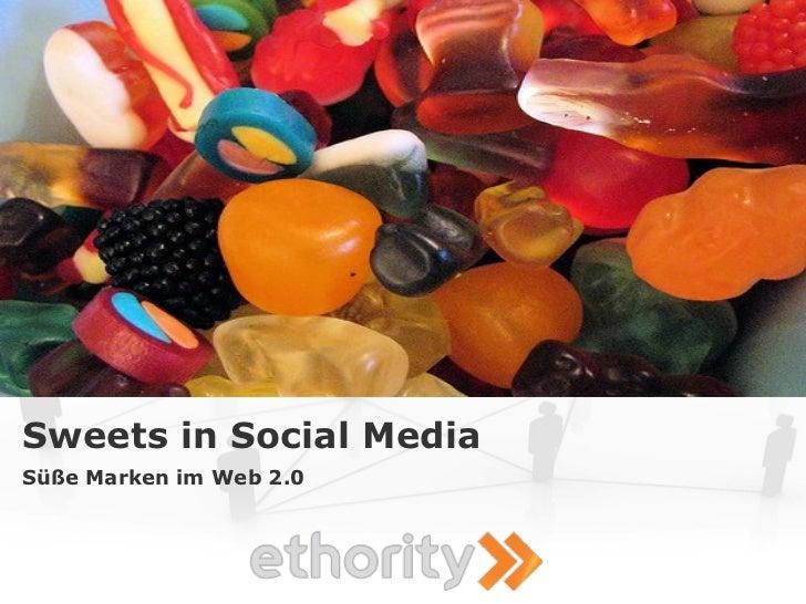 Sweets in Social Media Süße Marken im Web 2.0
