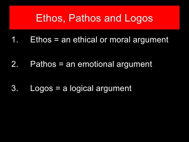 ethos logos and pathos in othello Transcript of ethos in othello example #1 explanations ethos in shakespeare othello this is an example of ethos because in othello's eyes.