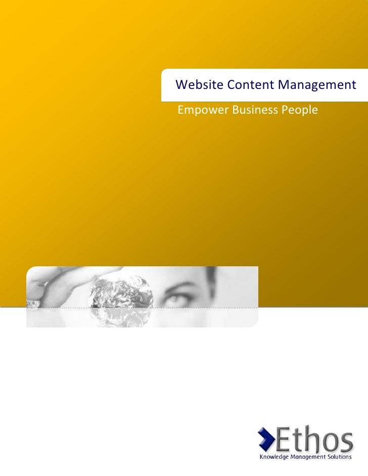 Website Content Management Empower Business People