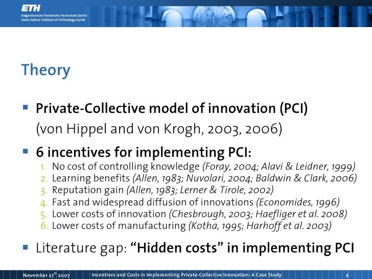 Open Source Software and the Private-Collective Model of Innovation Sample Essay
