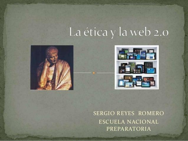 SERGIO REYES ROMEROESCUELA NACIONALPREPARATORIA