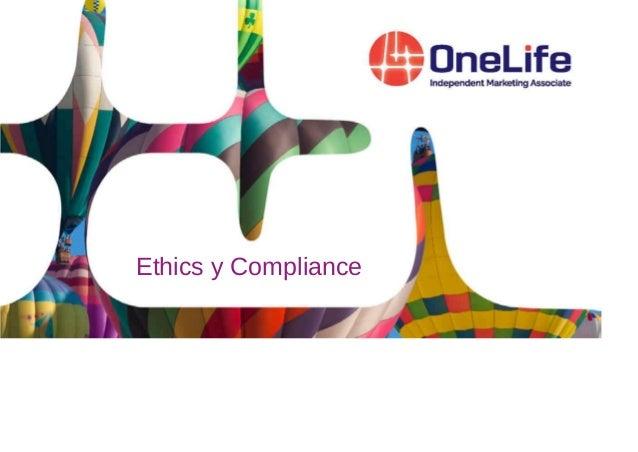 Ethics y Compliance