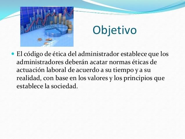 Etica del administrador financiero Slide 3