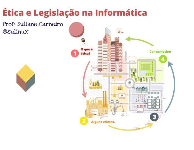 Ética e legislação em informática