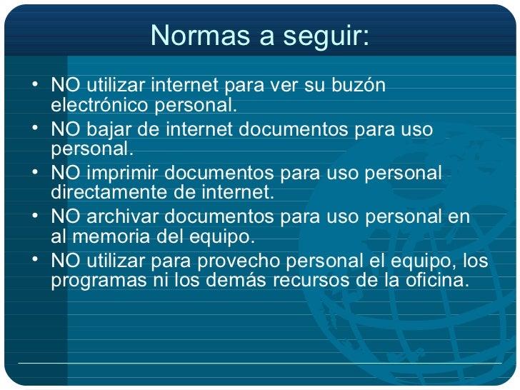 Etica profesional en el empleo for Internet para oficinas